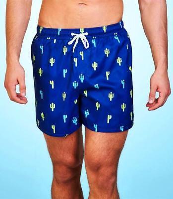 3bb810482dea ... Costume da Bagno Uomo Boxer Mare Pantaloncino Shorts CACTUS blu TG S -  M L - XL