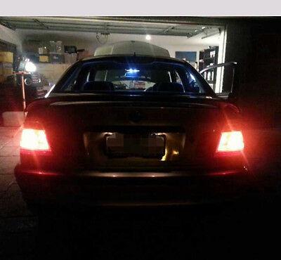 2X T20 12V 21W 5W TAIL Brake Signal Halogen Light Dual Filament bulb White Wedge