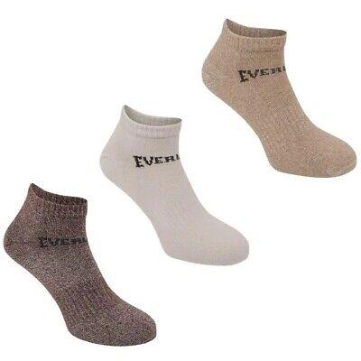 3 Pack Boys Girls Low Cut Ankle Trainer Socks Sizes C8-C13  Junior 1-6 11