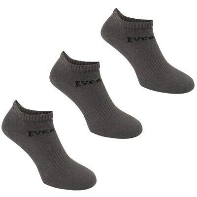 3 Pack Boys Girls Low Cut Ankle Trainer Socks Sizes C8-C13  Junior 1-6 9