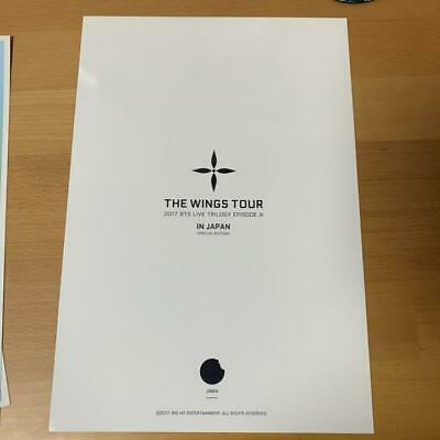 BTS JIMIN LIVE TRILOGY EPISODE III THE WINGS TOUR IN JAPAN Official Poster 2