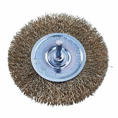 """1 Piece Rotary 4"""" Wire Wheel Or 3"""" Cup Brush Set (Drill For Paint/Rust Removal) 2"""