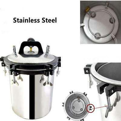 18/24L Stainless Steel Electric Autoclave Sterilizer Dental Medical Equipment 5