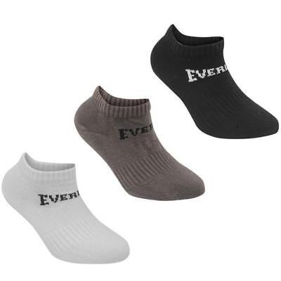 3 Pack Boys Girls Low Cut Ankle Trainer Socks Sizes C8-C13  Junior 1-6 7