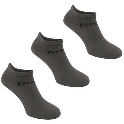 3 Pack Boys Girls Low Cut Ankle Trainer Socks Sizes C8-C13  Junior 1-6 3
