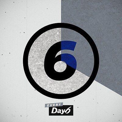 US SHIPPING Day6 Sunrise 1st Album CD+PhotoBook+ClearCover+LyricsBook+Card 9