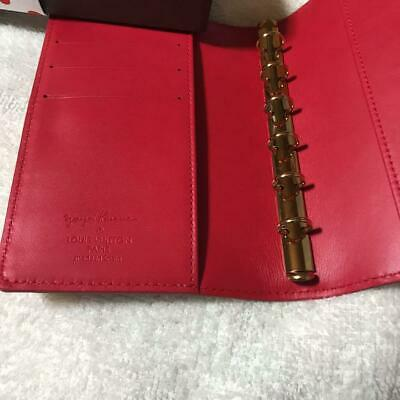 Louis Vuitton Yayoi Kusama Infinity Dots Agenda PM Cover Red New from JPN F/S 3