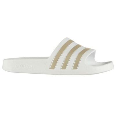 69835c57a281 ... Ladies Girls Adidas Sliders Sandals Shoes Slip Ons Sports Beach Pool  Flip Flop 2