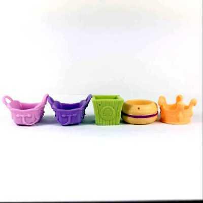 Random 10pcs Littlest Pet Shop LPS  Playset Accessories Sofa Bag Cool Plates 3