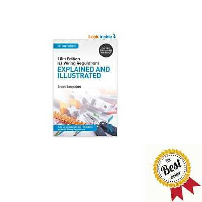 18th Edition IET Wiring Regulations Explained & Illustrated 11th Ed Paperback US 10