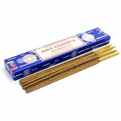 Genuine NAG CHAMPA AGARBATTI Incense Sticks Satya Sai Baba Insence Joss Pack UK 5