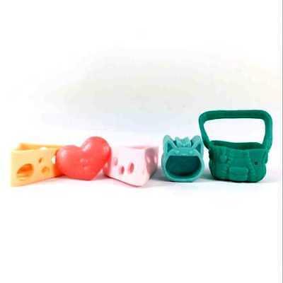Random 10pcs Littlest Pet Shop LPS  Playset Accessories Sofa Bag Cool Plates 4