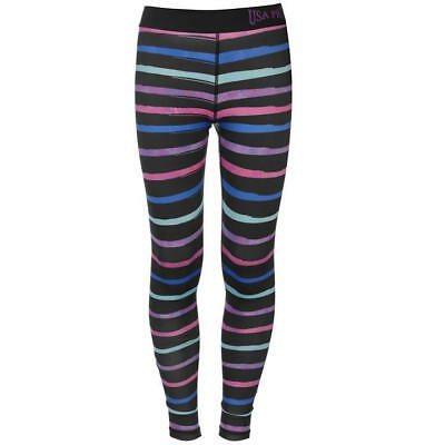 Junior Girls USA Pro Stretch Close Fit Gym Training Tights Sizes Age 5-13 4