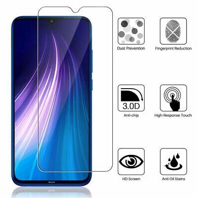 Vitre Film Protection Verre Trempe Xiaomi Redmi Note 8 Pro/8T/Note 7/5/Prime/4X 4