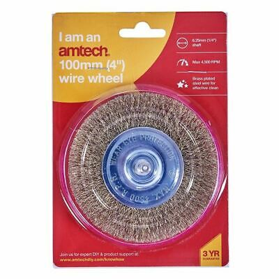 """1 Piece Rotary 4"""" Wire Wheel Or 3"""" Cup Brush Set (Drill For Paint/Rust Removal) 3"""