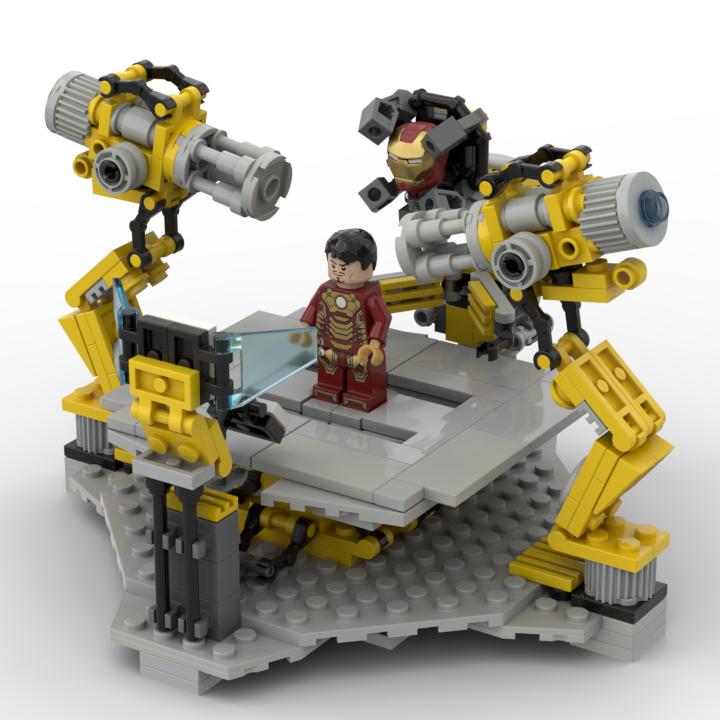 PDF Anleitung MOC für 145 Möbel Geräte Regale Sofas Sessel aus Lego Steinen