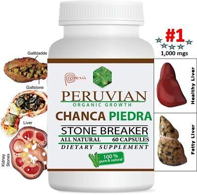 Chanca Piedra chancapiedra 1000mg 120 tab-cap Peruvian material Stone Breaker 2 7