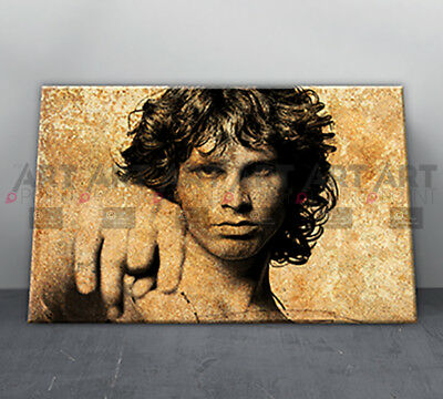 Jim Morrison The Doors Canvas Print Framed Music Icon Wall Art Picture