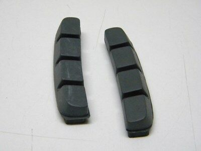 Pair Cantilever Brake Blocks Pads Shoes Inserts fit Shimano BR-M737 BR-M900(972) 3