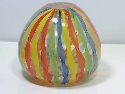 Ribbon art glass apple perfume bottle 5