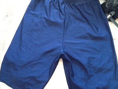 ladies-girls size 38 navy gymphlex shorts 2