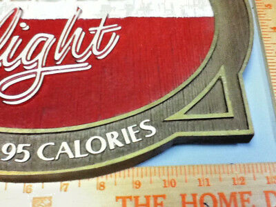 Amstel light beer sign imported holland breweries vintage old wall tacker Ml81 6
