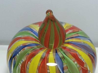 Ribbon art glass apple perfume bottle 3