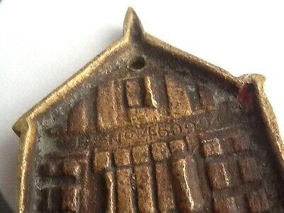 Vintage Brass Gods Providence House - Chester Door Knocker 7