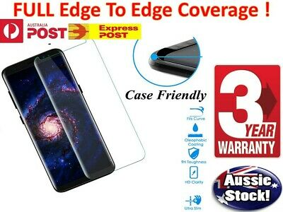 Genuine Samsung Galaxy S7 / Edge S9 S8 Plus Tempered Glass Full Screen Protector 2