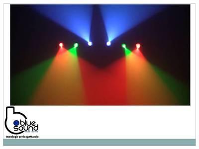 PROLIGHTS 6BEAMQ Kit composto di 6x12W LED RGBW cambiacolori, angolo 14,8°, IP30 7