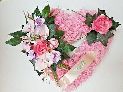 Silk Artificial Funeral Flowers Wreath/Memorial/Grave Tribute Wreaths 3