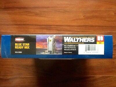 WALTHERS CORNERSTONE HO SCALE 1//87 BLUE STAR READY MIX PLANTBN933-3086