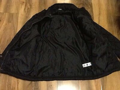 Black Quilted Girls School Jacket Aged 7-8 Years Old (122-128cm) 6