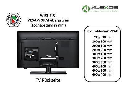 TV Fernseh Wandhalterung A59 für PHILIPS 55 Zoll 55PUS6551//12 und 55PUS6031S//12