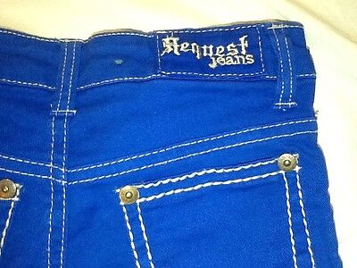 Size Youth Shorts 10~blue Jeans Request One Denim~kids~worn Girls nwk0PO