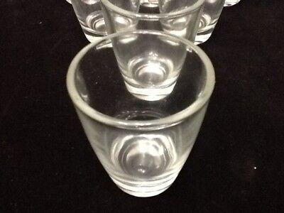 10 Shot Glasses Glass 1 oz Barware Shots Whiskey Tequila Aguardiente Diez Vodka 4