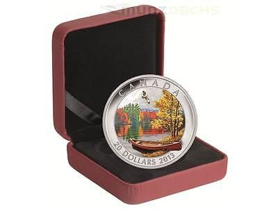 20 $ Dollar Autumn Bliss Herbstimpression Kanada 2013 1 Unze oz Silber PP 3