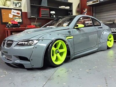 Rc Body1 10 Scale Model Bmw M3 E92 Liberty Walk To Fit Tamiya Mst