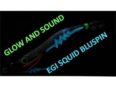 MK007 NEW BLUSPIN EGI SQUID MOKE JIG SEPPIE CALAMARI SINKING  3.5 ~ 20gr COL