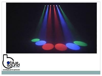 PROLIGHTS 6BEAMQ Kit composto di 6x12W LED RGBW cambiacolori, angolo 14,8°, IP30 8