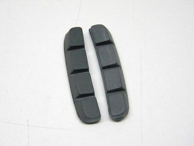 Pair Cantilever Brake Blocks Pads Shoes Inserts fit Shimano BR-M737 BR-M900(972) 2
