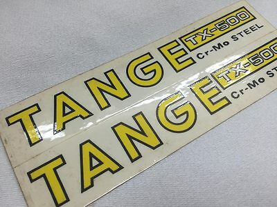 old school bmx Tange ARX fork decal set