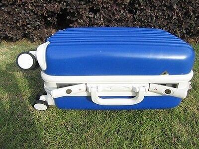 1X 24 Inch Dark Blue Universal Wheel Lock Travel Suitcase Luggage Bag 4