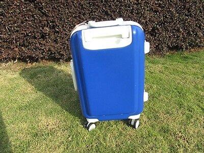 1X 24 Inch Dark Blue Universal Wheel Lock Travel Suitcase Luggage Bag 3