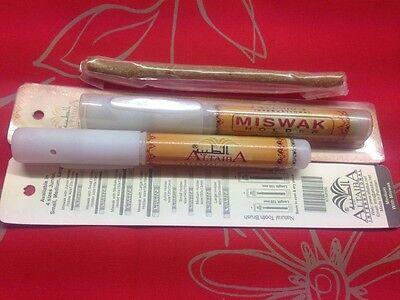Miswak & Holder, Sewak, Traditional Tooth Brush, Herbal Natural Dental Solution 2