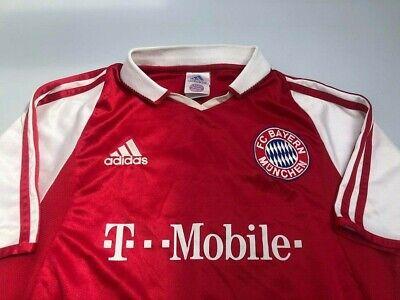 MAGLIA CALCIO ORIGINALE Bayern Monaco Santa Cruz 2004-05 Bambino