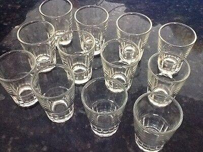 18 Shot Glasses 1.5 oz Glass Barware Shots Drink Vodka Gin Tequilla Rum Whiskey 3