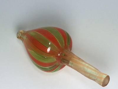 Ribbon art glass apple perfume bottle 8