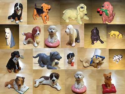 Puppy In My Pocket & Other Makes Toy Figure Dogs