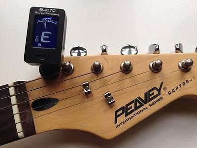 LCD Clip-on Electronic Digital Guitar Tuner for Chromatic Bass Violin Ukulele UK 3